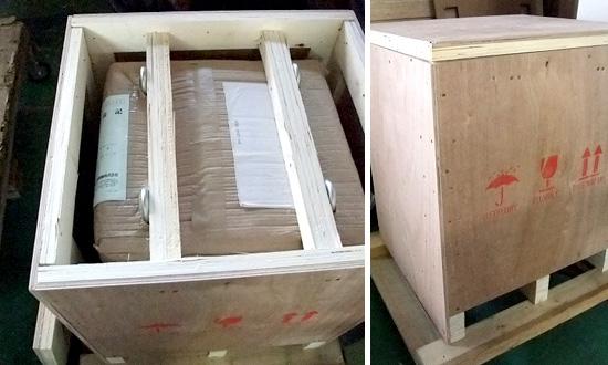 輸出密閉合板梱包